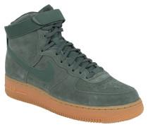 "Sneaker ""Air Force 1"", Veloursleder, Klettriegel, Grün"