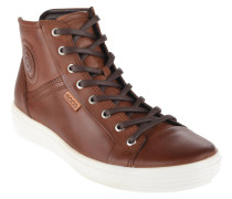 Sneaker, Leder, Schnürung, Kreis-Applikation
