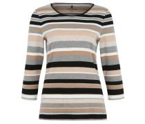 Shirt, 3/4-Ärmel, Streifenmuster