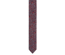 Krawatte, Seide, gemustert, gewebt