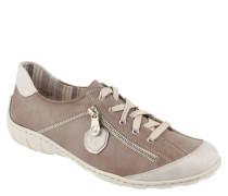 Sneaker, Reißverschluss-Applikation, Gummisohle