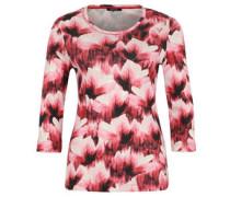 Shirt, Dreiviertalarm, Baumwollqualität, floraler Print