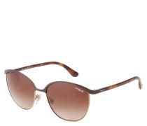 """Sonnenbrille """"VO 4010-S"""", Havana-Design, Gläser mit Farbverlauf"""