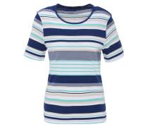 T-Shirt, gestreift, , Baumwolle