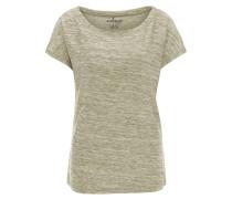 T-Shirt, meliert, atmungsaktiv, elastisch
