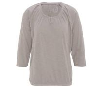 Shirt, 3/4-Arm, Bio-Baumwolle, uni