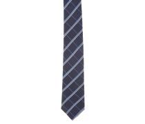 Krawatte, Seide, Denim-Look, Streifen