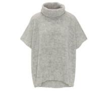 Pullover, locker, Kurzarm, Rollkragen