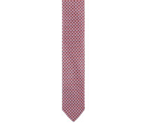 Krawatte, Seide, Karomuster