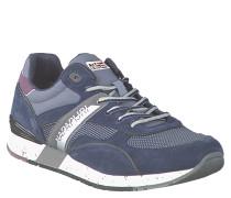 """Sneaker """"Rabari"""", Materialmix, Leder-Besatz, Blau"""