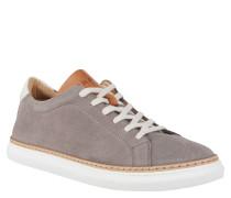 "Sneaker ""PAULARO"", dreifarbig, Leder, Grau"