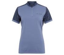 """Fahrrad-Shirt """"Tremalzo"""", Sicherheitstasche, für Damen, Blau"""