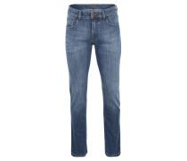 """Jeans """"Houston"""", Straight Fit, Used-Optik"""