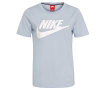 "T-Shirt ""Essential"", Logo-Print, für Damen, Blau"