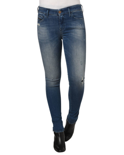 "Jeans ""Slandy"", Super Skinny Fit, Waschung, Destroyed-Look"