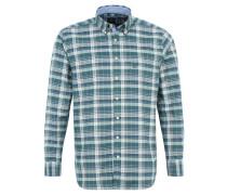 Hemd, Karomuster, Button-Down-Kragen, Regular Fit