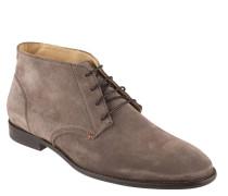 Desert Boots, Rauleder, Schnürung, Braun