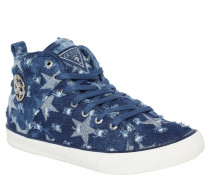 Sneaker, Sterne, Emblem, Blau