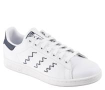 """Sneaker """"Stan Smith W"""", Leder, Ziernähte, Weiß"""
