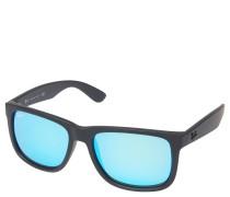 """Sonnenbrille """"RB 4165 Wayfarer"""", blau verspiegelte Gläser, mattes Gestell"""
