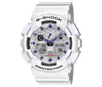 Herrenuhr G-SHOCK Classic, masculin, GA-100A-7AER