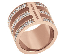 Ring Brilliance, Edelstahl, rosevergoldet, MKJ5027791