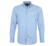 Freizeithemd, Modern Fit, Kentkragen, Blau