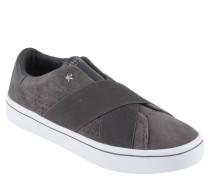Sneaker, Veloursleder, Nieten, Elastik-Bänder