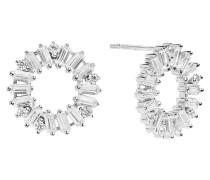 Antella Circolo Ohrringe Sterling Silber 925 SJ-E0324-CZ