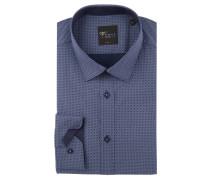 Businesshemd, Body Fit, Kent-Kragen, reine Baumwolle