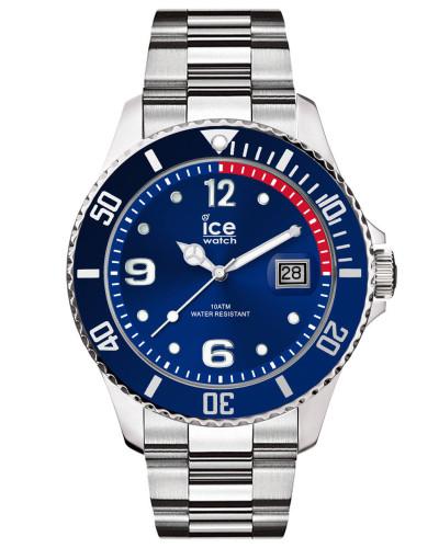 ICE steel - Blue silver - Medium - 3H 015771 Herrenuhr