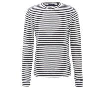 Sweatshirt, gestreift, Baumwolle, Mehrfarbig