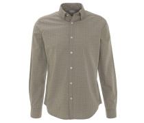 Freizeithemd, Baumwolle, Regular Fit, Allover-Muster