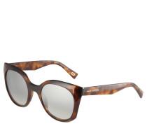 Sonnenbrille, Havanna-Optik, Spiegelglas