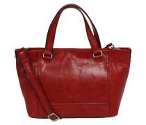 """Handtasche """"Lugano"""", Leder, Schultergurt, Rot"""