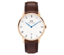 Dapper Collection Armbanduhr Bristol Rosegold DW00100094