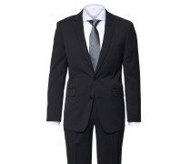 Anzug, slim fit, Reverskragen