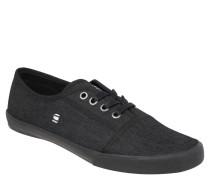 Sneaker, Denim-Optik, Schwarz
