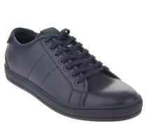 "Sneaker ""Delello"", Leder-Optik, Schnürung, Blau"