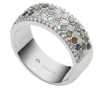 Ring, Vintage Glitz, Edelstahl, Perlmutt, JF02313040