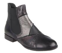Chelsea Boots, Glitzer-Effekt, elastische Einsätze