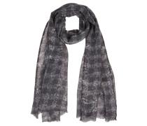 Schal, gemustert, Fransen, Wolle