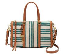 """Handtaschen """"Kendall Satchel Teal Green"""", Streifen, geflochten, Grün"""