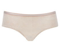 """Panty """"Irresistible"""", Material-Mix, Punkte-Design"""