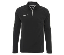 Sweatshirt, atmungsaktiv, Dri-FIT, für Herren, Schwarz