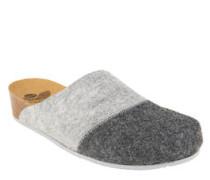 "Pantoffeln ""Flaine"", Filz, ergonomisches Fußbett"