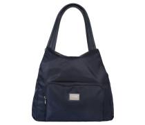 """Handtasche """"Aurum"""", Nylon, Fronttasche, Blau"""