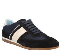 """Sneaker """"Hernas"""", Velourseder, Blau"""