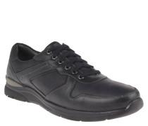 Sneaker, uni, gepolsterter Einstieg, Schwarz