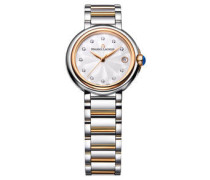 Damenuhr Fiaba Date Diamant rosévergoldet Bicolor FA1004-PVP13-150